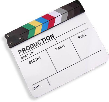 Klapka pro natáčení videa