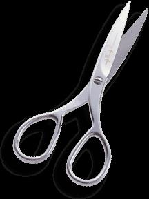 Nůžky pro stříhání videa.