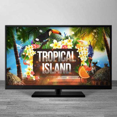 Reference a video prezentace upoutávka na obrovskou párty Tropical Island.