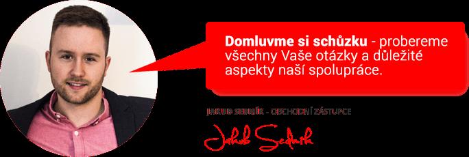 Ochodní zástupce Jakub Sedmík Vás zve na schůzku